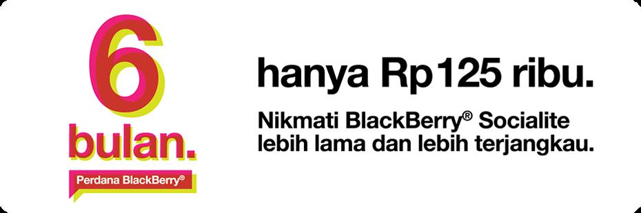 Baru Paket BlackBerry 3 - Tri 125 Ribu 6 Bulan Paling Murah Paket BB