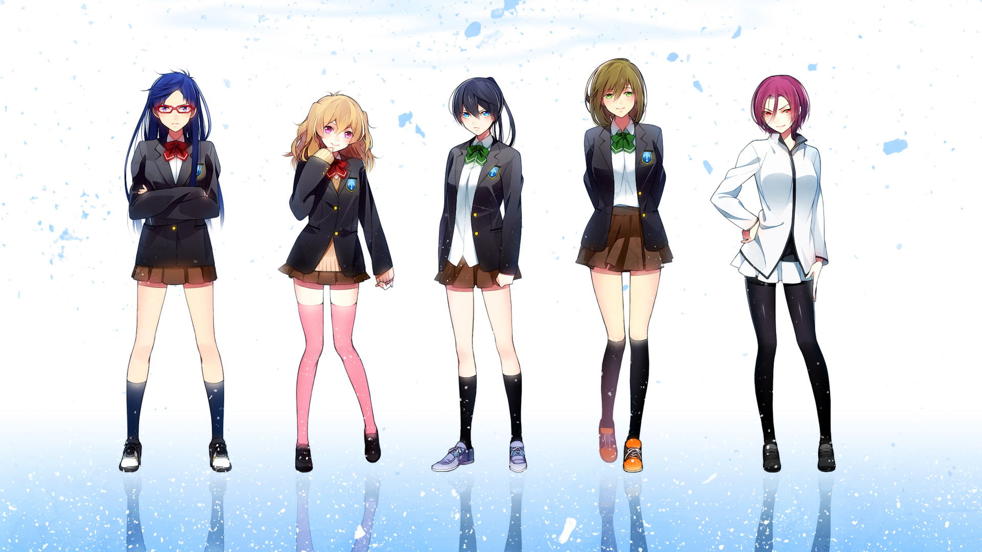 Free anime gender bender wallpaper hd free anime girl version voltagebd Choice Image