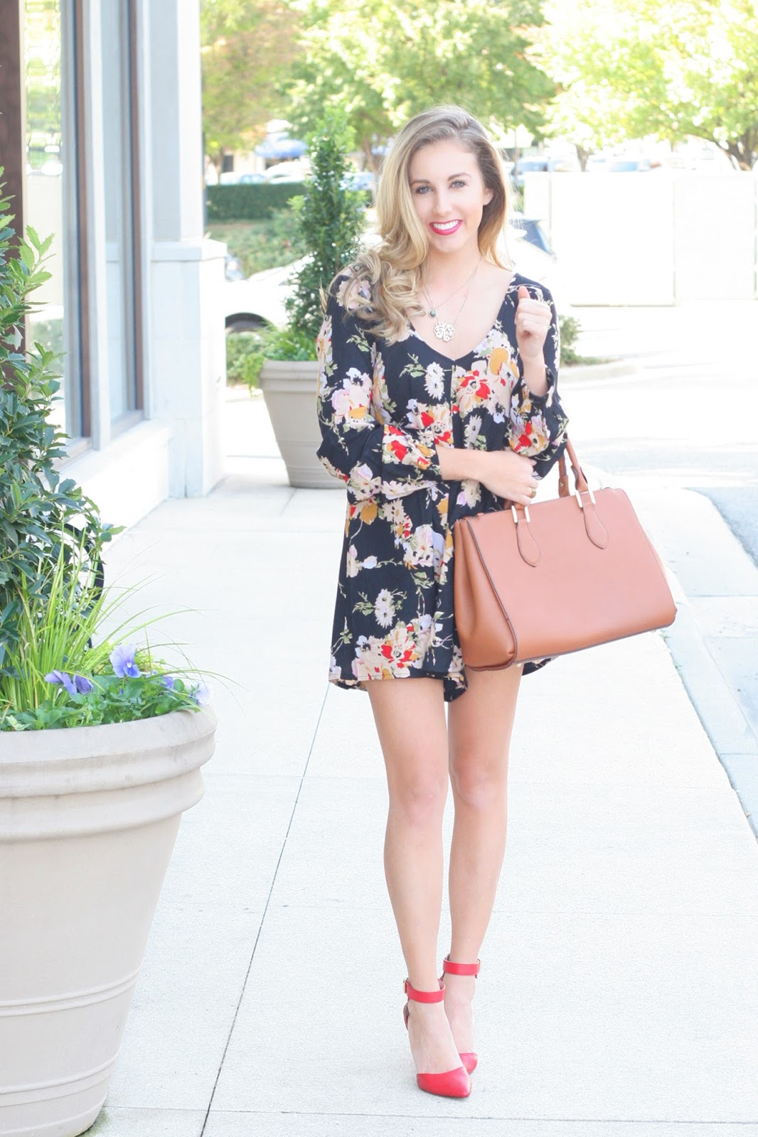 Floral-romper-for-fall