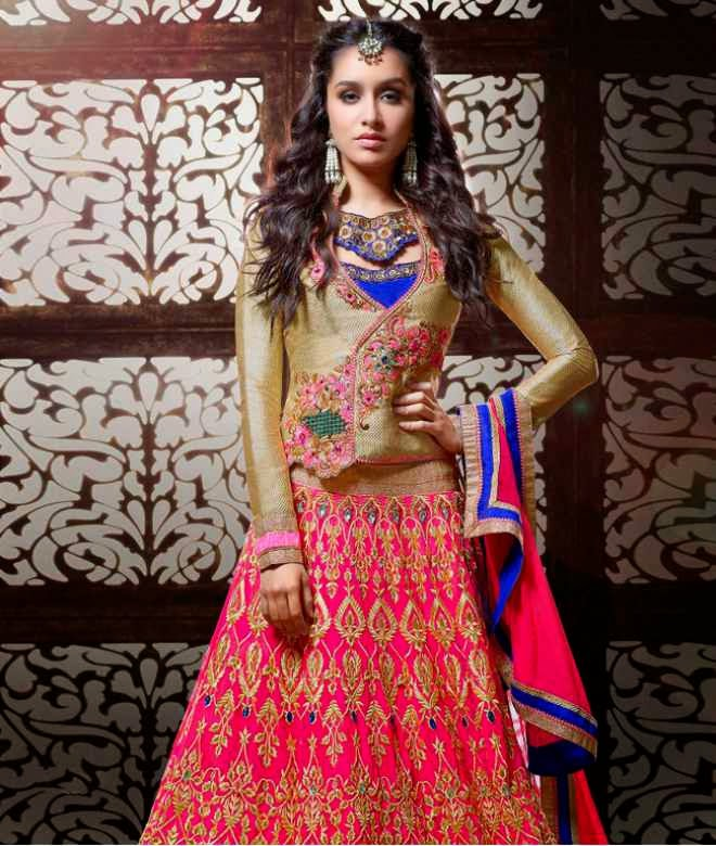 shraddha kapoor hot photos in designer punjabi photos