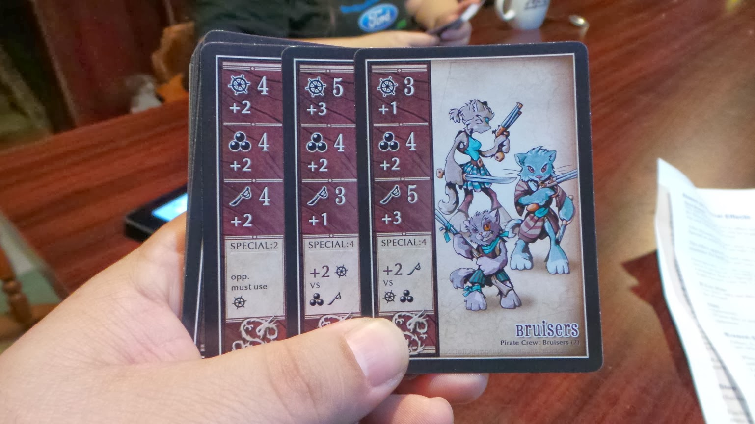 Check this out: a card game you don't need a table to play on. Oddball Aeronauts (Prototype) Review