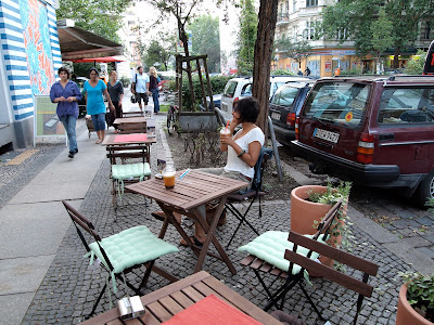 Jade Vital Berlin Kreuzberg outdoor seating