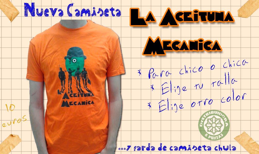 """Camiseta """"La Aceituna Mecánica"""""""