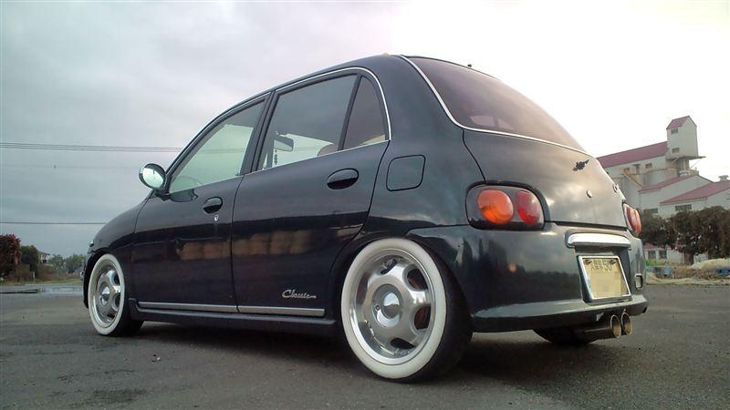 Daihatsu Opti, kei car, mały japoński samochód, JDM, tuning, mały silnik, pierwsza generacja