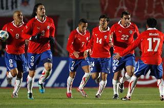 5 partidos Amistosos tendrá Chile durante el 2012