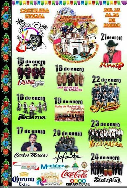 fiesta grande chiapa de corzo 2016