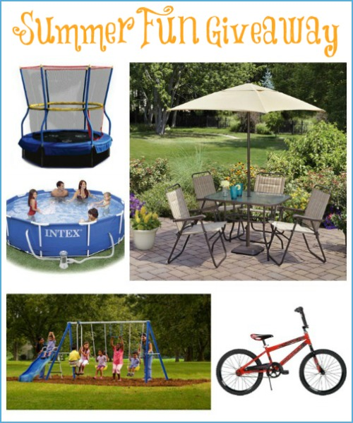 Summer Fun Giveaway 6/12 to 6/24