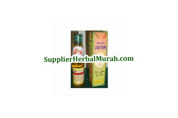 Grosir Minyak Zaitun Extra Virgin al-Ghuroba' 60 ml 5 botol