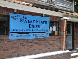 Photo of Sweet Peach Diner, Belmont, MA.
