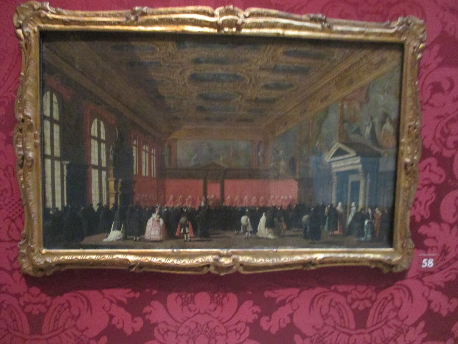 BALTIMORE WALTERS ART MUSEUM L'INTÉRIEUR DU PALAIS DES DOGES À VENISE