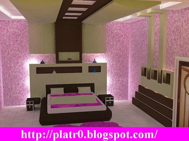 Chambre a coucher moderne plafond marocain moderne with for Modele chambre a coucher maroc