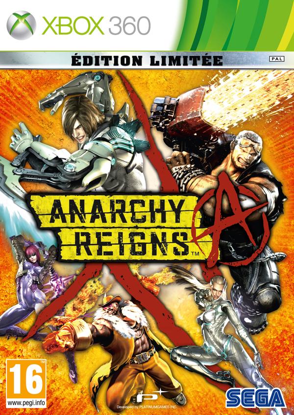 Anarchy Reign - Portada XBOX Edición Limitada