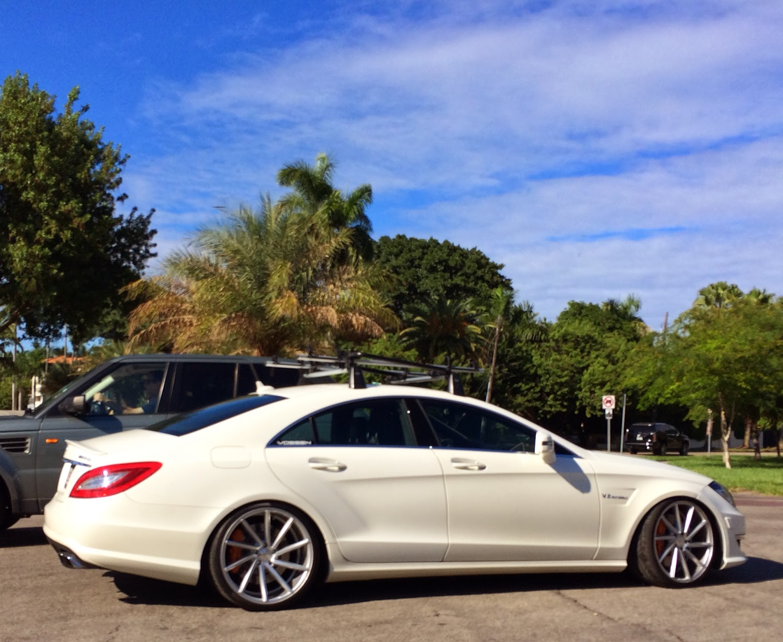 Mercedes CLS with Vossen Rims