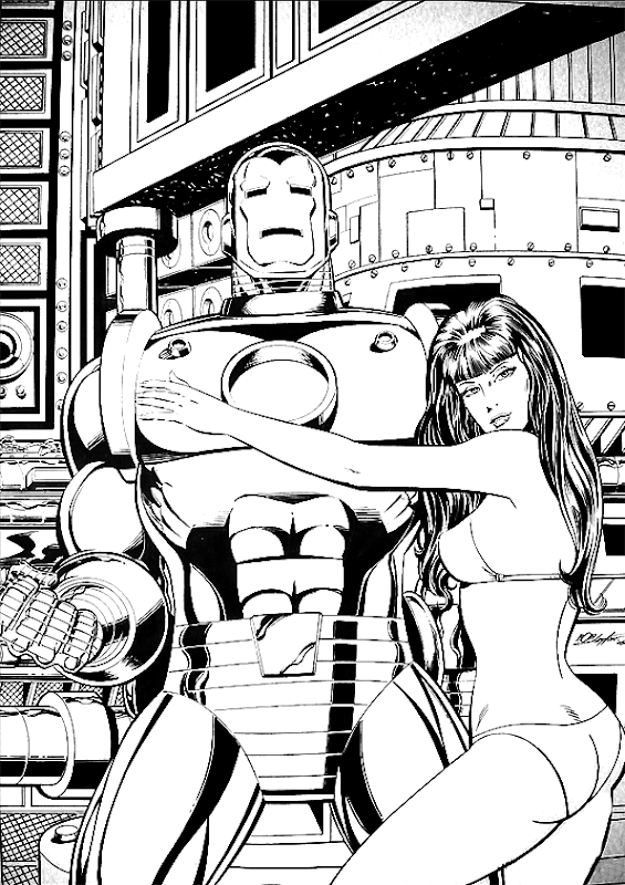 Iron Man Coloring Pages title=