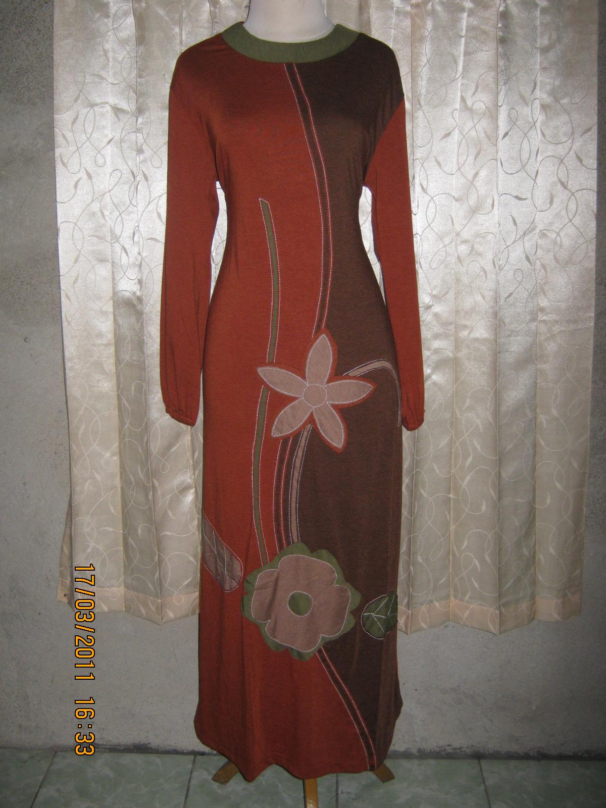Baju Muslim Murah Meriah Gamis Kaos Rayon