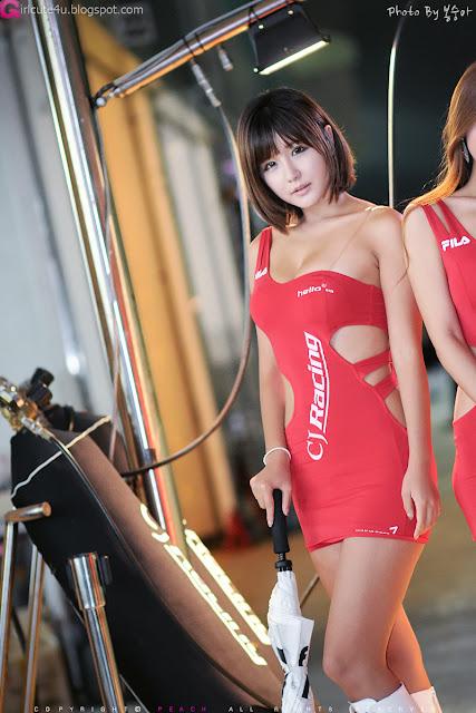 4 Ryu Ji Hye at CJ SuperRace R4 2012-Very cute asian girl - girlcute4u.blogspot.com