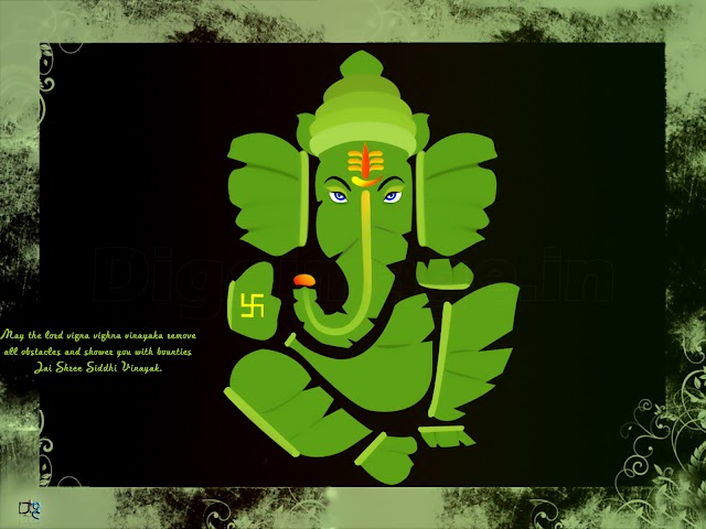 May the lord vigna vighna vinayaka remove  all obstacles and shower you with bounties  Jai Shree Siddhi Vinayak.