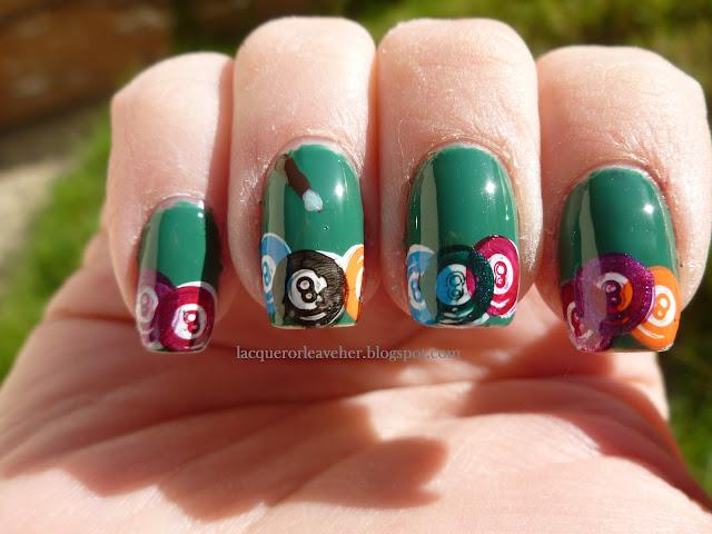 Irish Finger Nail Designs
