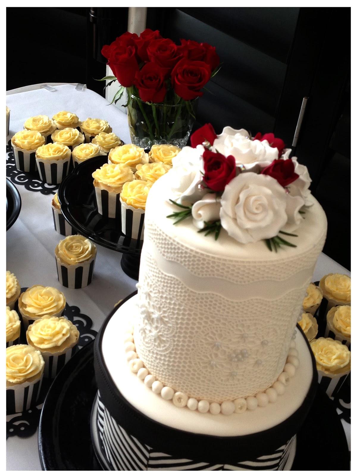 White Bridal Bouquet Roses