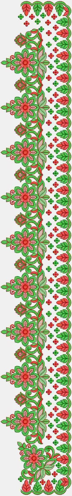 Embdesigntube Latest Saree Embroidery Designs