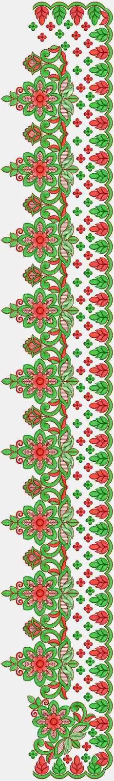 Embdesigntube Latest Saree Embroidery Designs