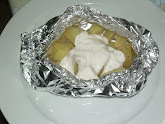 Patate al cartoccio con panna acida