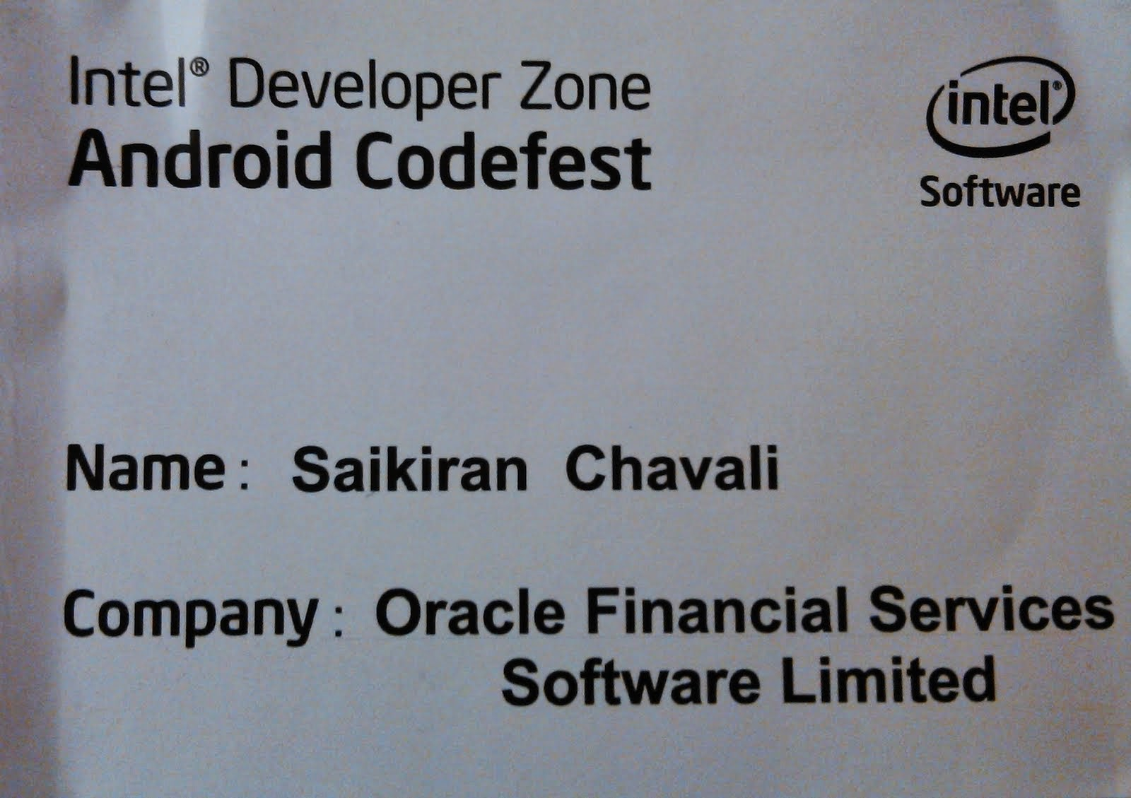 Android Codefest
