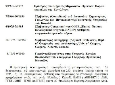 Αντώνης Φώσκολος - Βιογραφικό Σημείωμα
