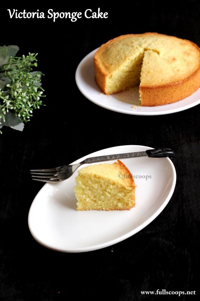 Cake Victoria Sponge Recipe