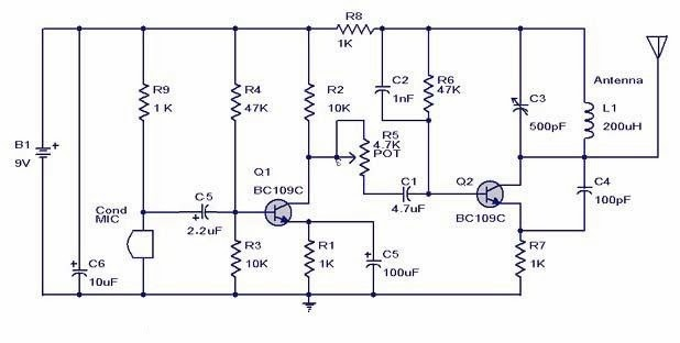 popular electronics circuit rh khelectronics blogspot com Inverting Op Amp Circuit Op-Amp 741 Projects