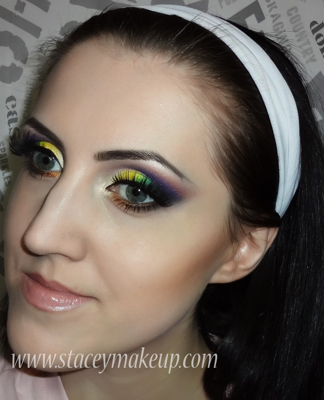 bright and soft makeup look