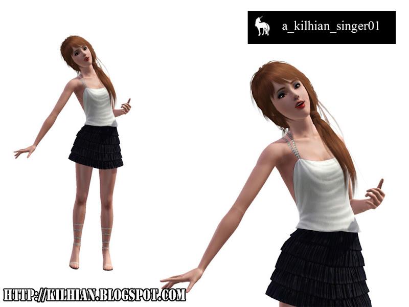 Pose Set N°01 - On Stage! by Kilhian Singer01