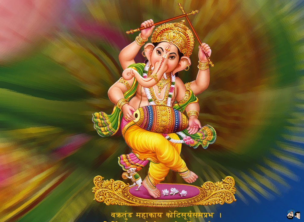 lord ganesha wallpaper computer background - photo #6