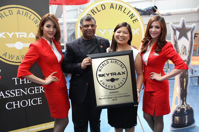 AirAsia named Asia and World's Best Low Cost Airline for 7th Consecutive Year