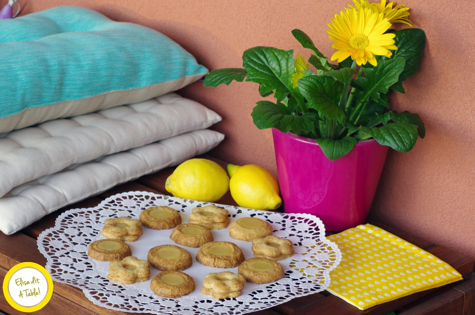 recette sablé citron