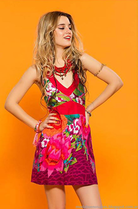Vestidos cortos verano 2015 Sophya.