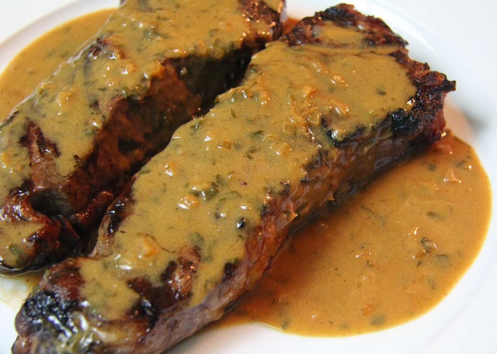 Salvation Sisters: An Updated American Classic: Grilled Steak Diane