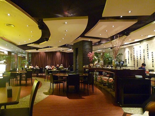 El restaurante Nan Xiang se ve así