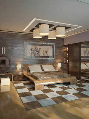 Modern Ceiling Lights with Hanged Pendant Fixtures and Curved Contemporary Style Lighting