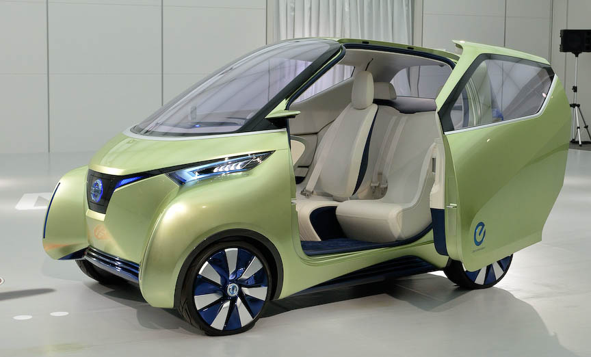 Nissan Pivo 3 Concept Exhibited At The Tokyo Motor Show Auto Daily