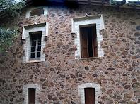 Façana nord del mas Francesc