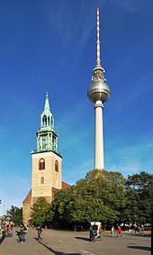 Tempat Wisata Di Jerman - Fernsehturm Tower