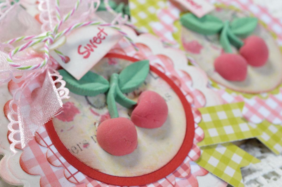 Cherries Note Card Set