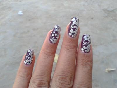 creative nail art design picture