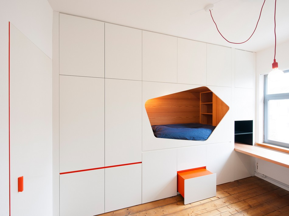 Built In Bed Design, Bed Inside The Wall For Maximum Space Use | Alexander  Gruenewald