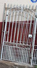 portão social 1,00x1,90