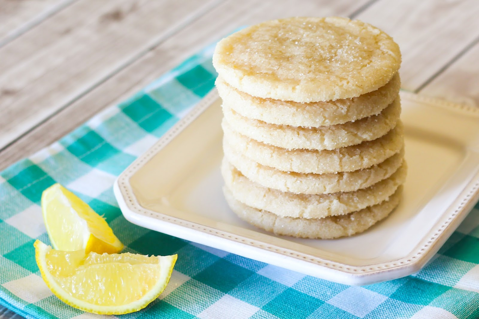 ... Bakes Gluten Free Treats: gluten free vegan chewy lemon sugar cookies