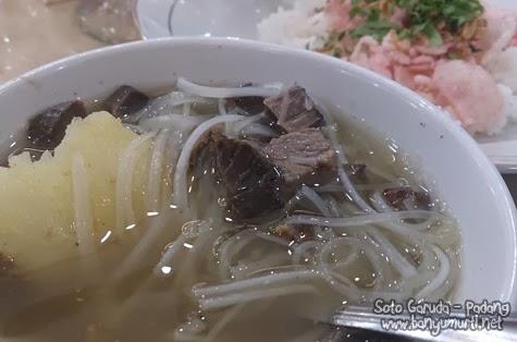 Kuliner Padang - Soto Garuda
