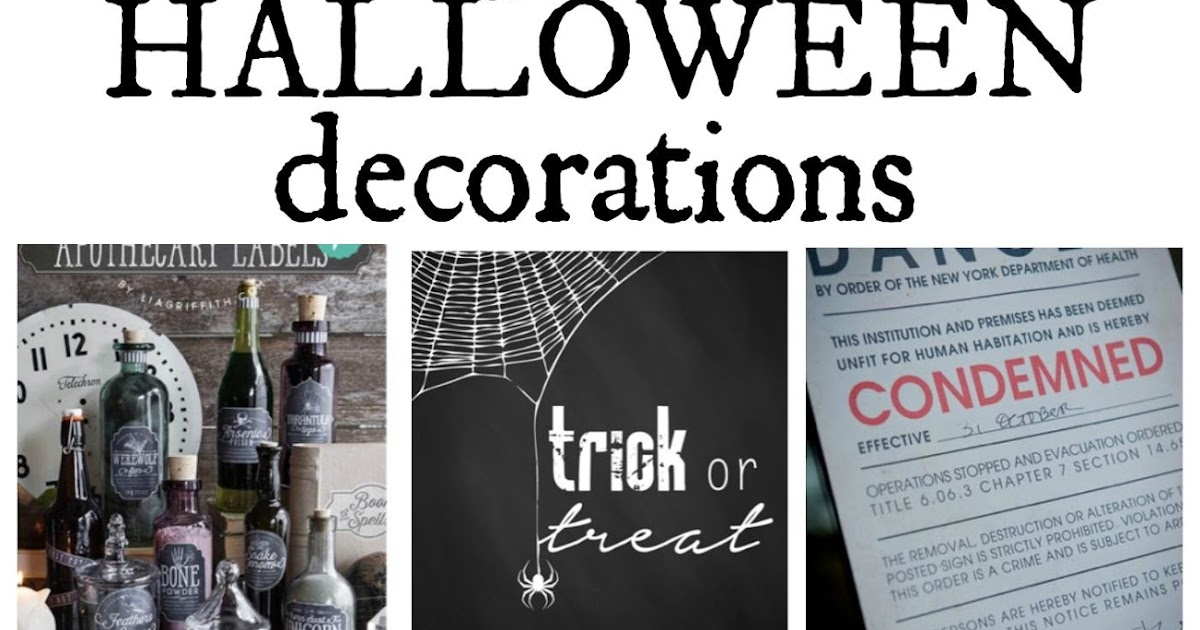 image regarding Free Printable Halloween Decorations identified as Musings of an Common Mother: Absolutely free Printable Halloween Decorations