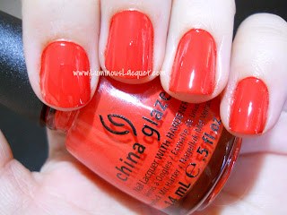China Glaze - Roguish Red